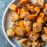 Smoky Sweet Potato and Pork Hash