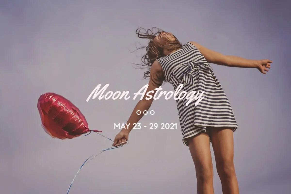 一週間のムードを読む来週の月もよう。5月23〜29日。