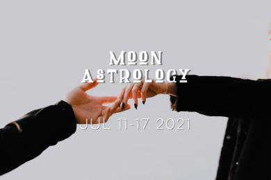 月もよう 2021年7月11日