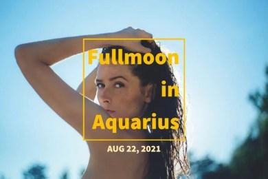 2021年8月22日は今年2回目の水瓶座満月!その鎖を断ち切って新たな未来を迎え入れる時。