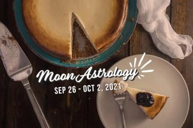 来週の月もよう。9/26〜10/2【蟹座の下弦の月に感情のデトックスを】