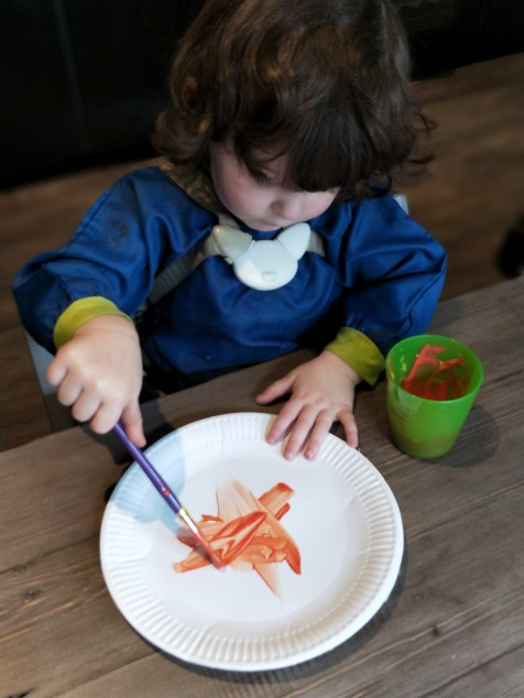 Pumpkin Plate Crafts