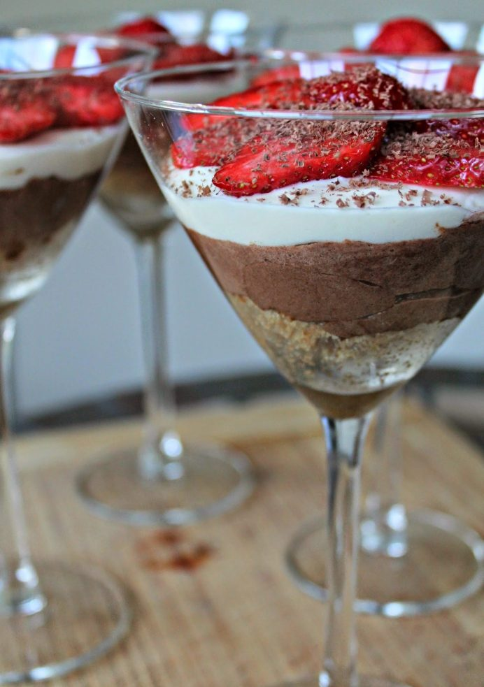 Chocolate and Cream Cheese Mousse