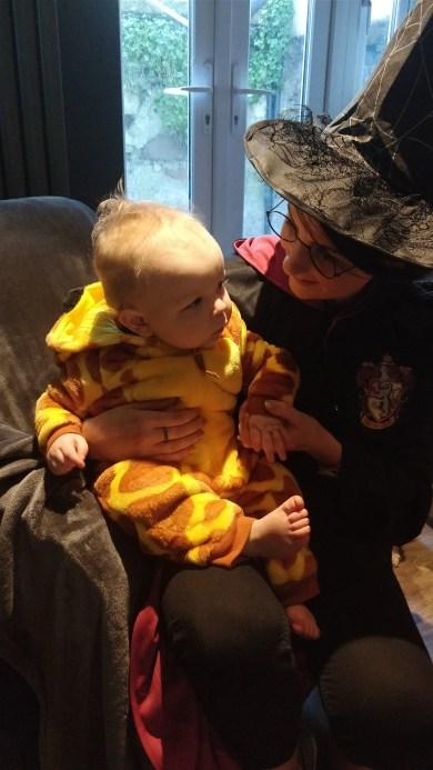 Giraffe and Harriet Potter