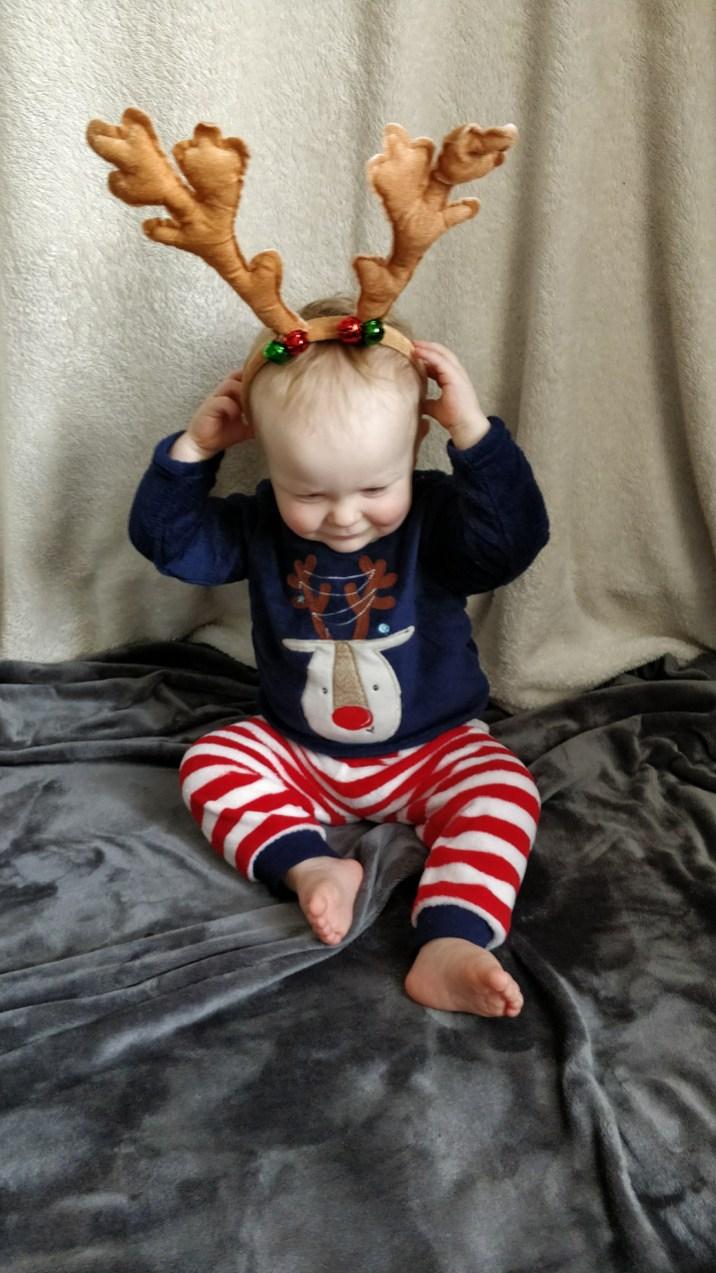 Fleece Reindeer Pyjamas