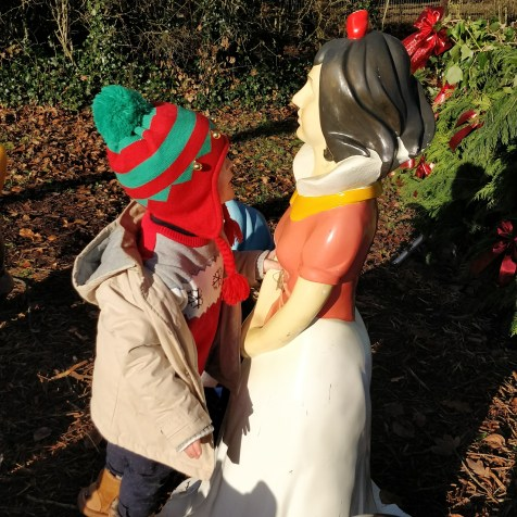 A dalliance with Snow White