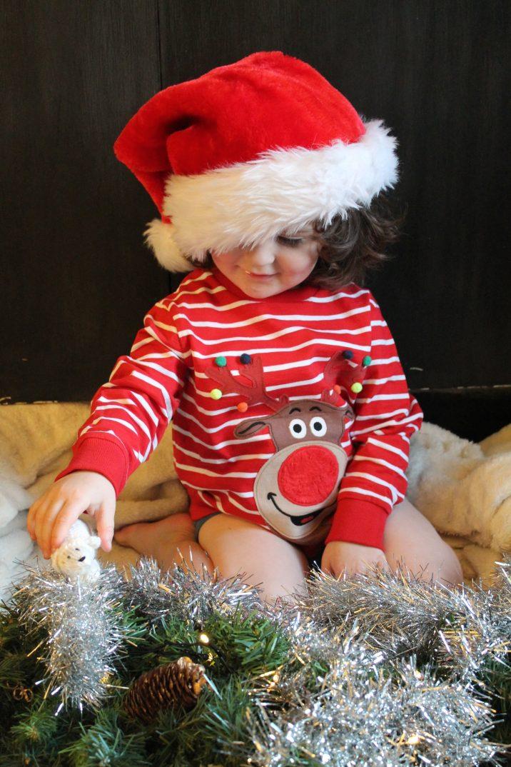 Next Kids Reindeer T-Shirt