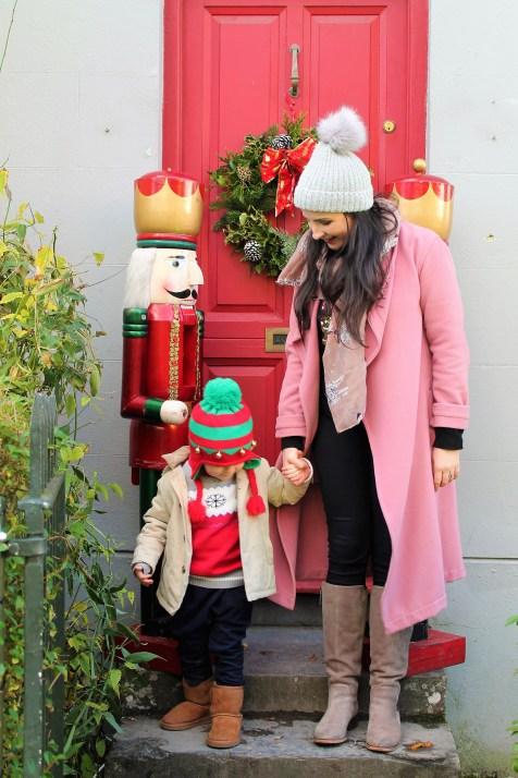 Luke & Mama Santa in Bunratty