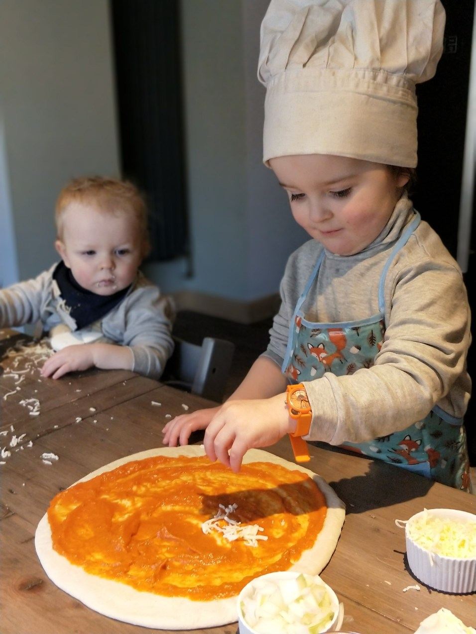 Cooking With Your Toddler