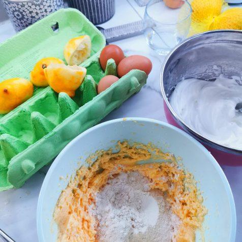Gooey Lemon Pudding