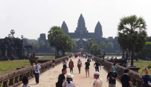 カンボジアに行ってみた(笑)アンコールワット(観光編)口コミandレビュー