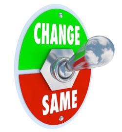 change same Taking Notice For Change