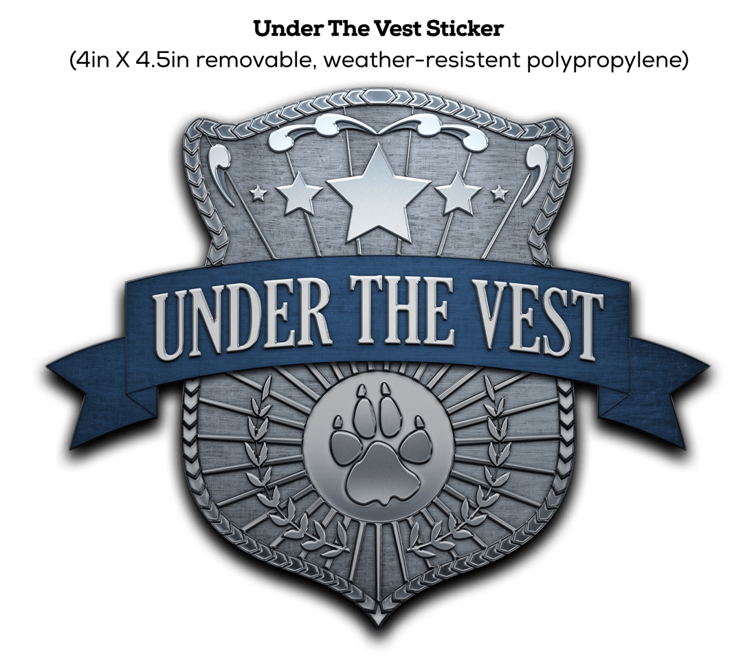 Under The Vest Sticker For Website