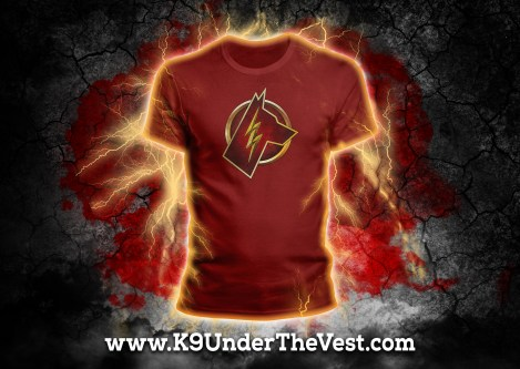 K9 Flash Tshirt 01