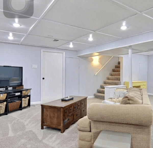 A Basement Remodel on a Budget