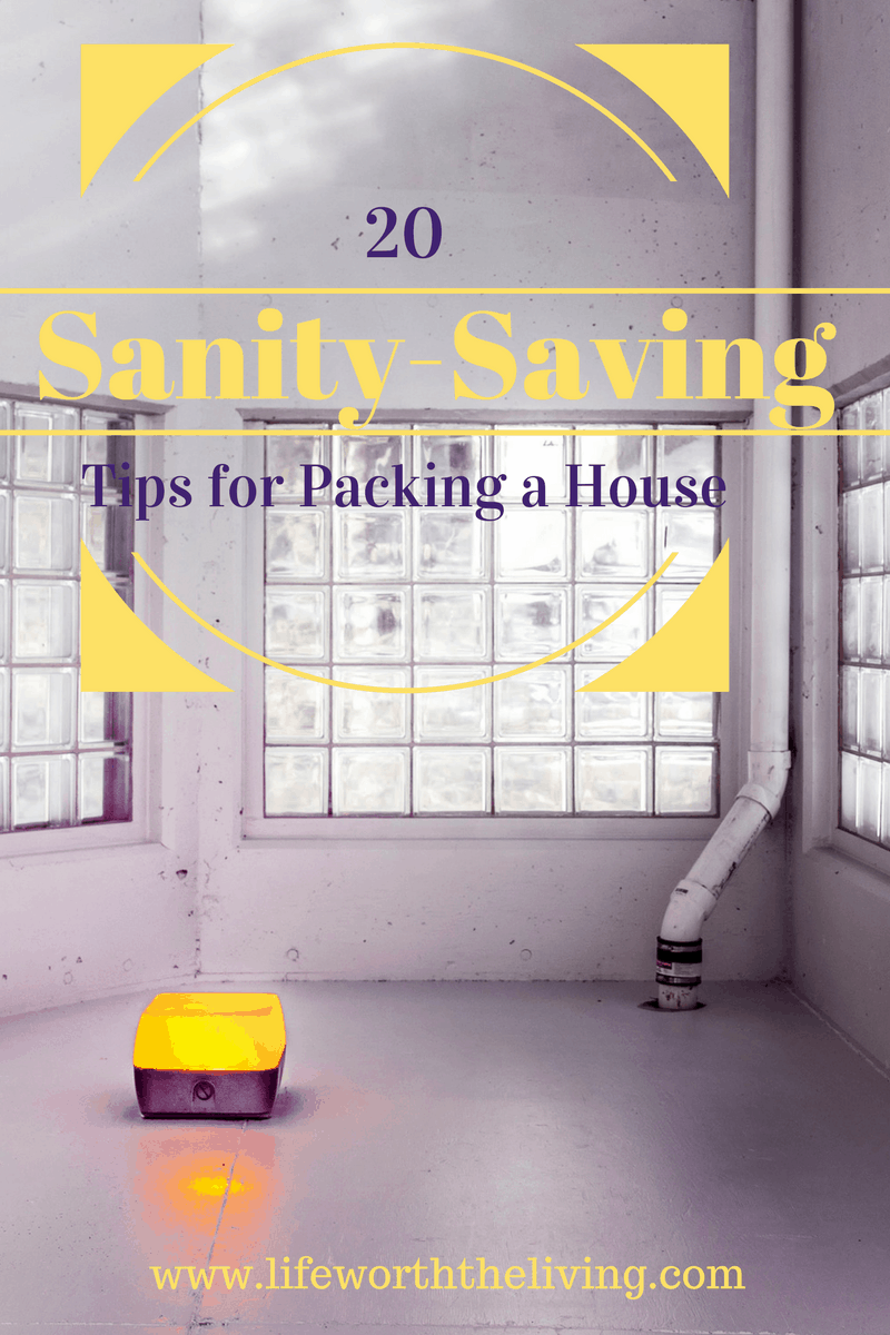Sanity-Saving Tips for Packing a House