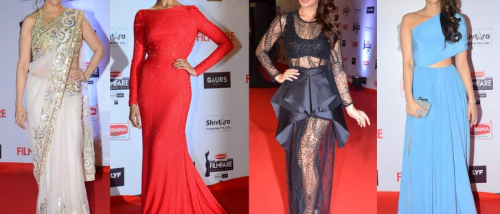 LXP - Amazing Bollywood Red Carpet Highlights 2016 Women Gala Dresses