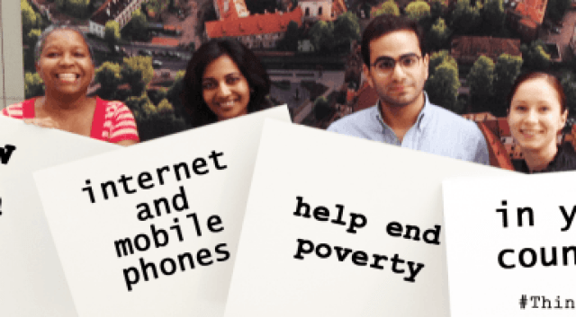 Using The Internet To End Poverty