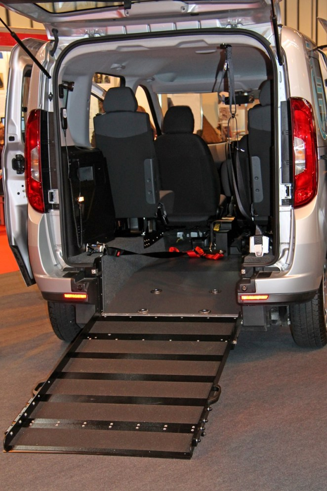 Car Wheelchair Ramp Installation