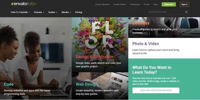 Tuts-Plus-website