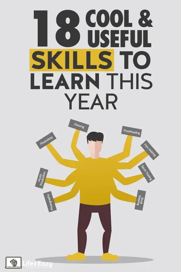 Cool & Useful skills to learn Pin