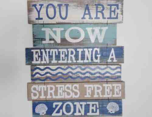 spending-your-health-stress-free-zone-sign