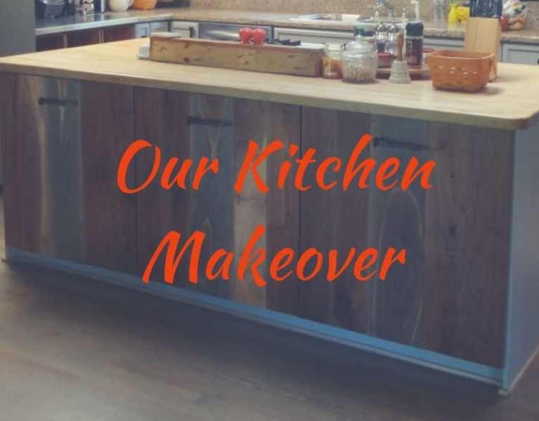 DIY Rustic Kitchen Redo Cover