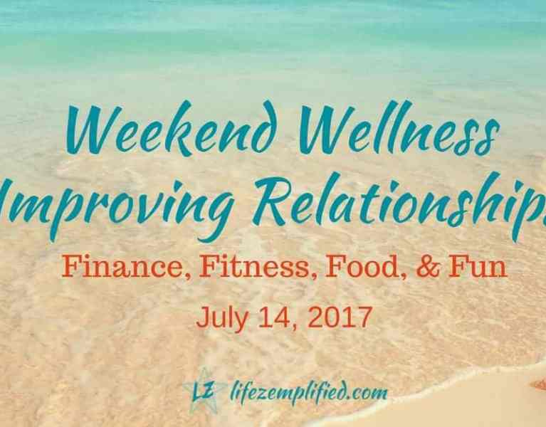 Improving Your Relationships-Finance-Fitness-Food-Fun