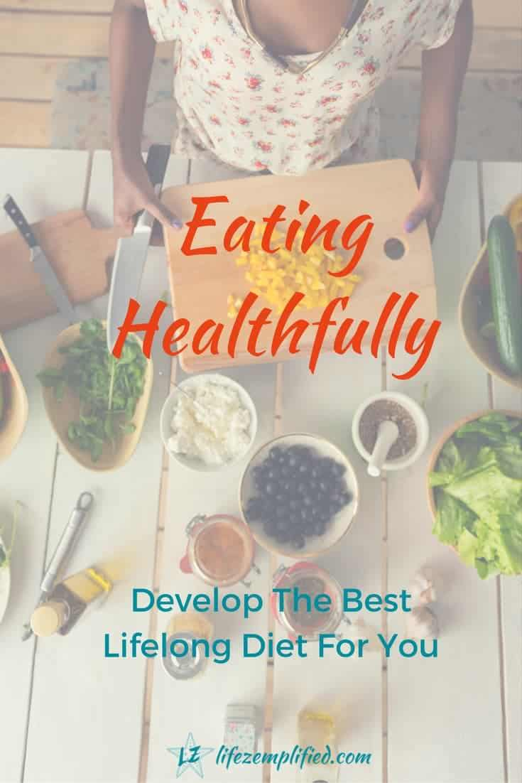How you feel today or in a year is related to the food choices you make each day. Develop the best lifelong diet for you, so you feel great every day for years to come. #healtheating #diets #dieting #eatingwell #lifelongeating #foodchoices