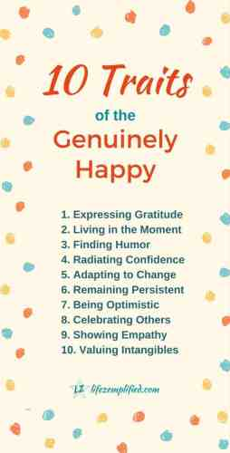 How to be Happy-Instill These Traits