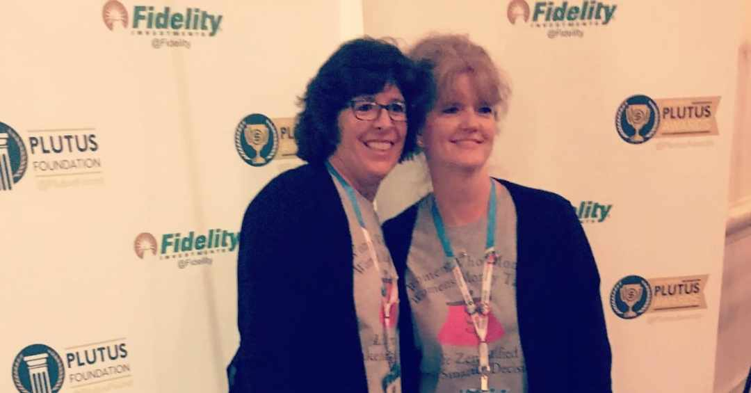 Vicki and Amy at FinCon18