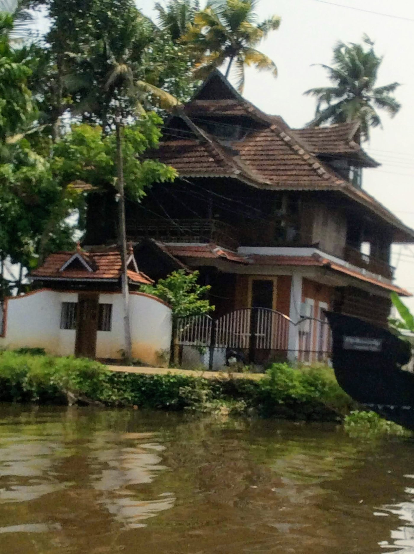 Kerala has its own traditional architectural styles.