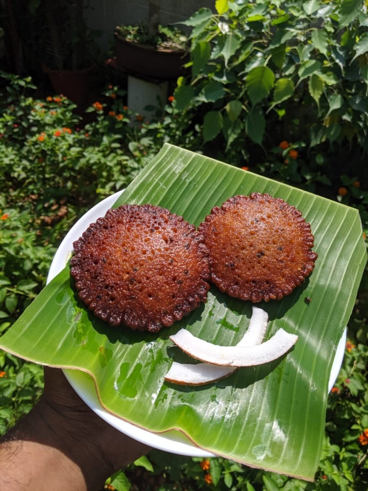 Neyyappam is a tasty sweet among top 12 foods of Kerala.