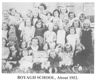 Boyagh School, About 1952.