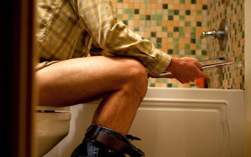 things people do in bathrooms