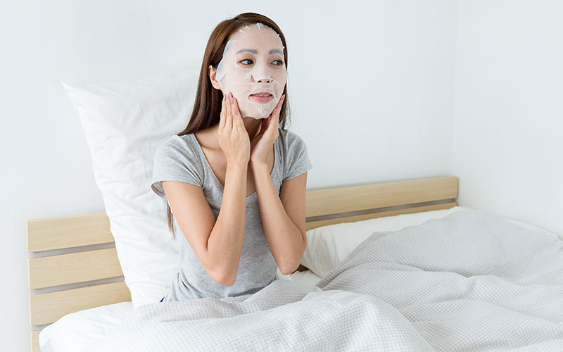 How to use sheet mask