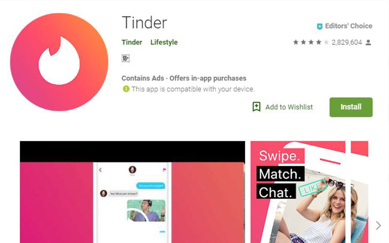 dating sites and apps
