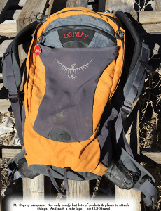 Photo of Osprey backpack