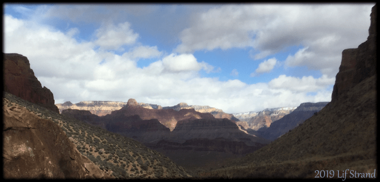 Photo of the approach to Indian Garden, Grand Canyon 2019 Lif Strand Photo