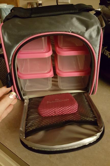 Meal Prep Bag Lunchbox Set