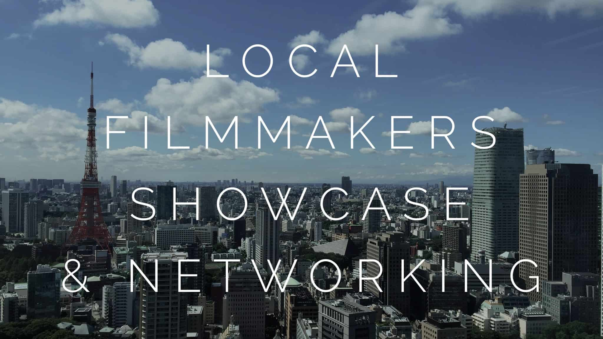 A photograph of the city of Tokyo to signify the local filmmakers showcase