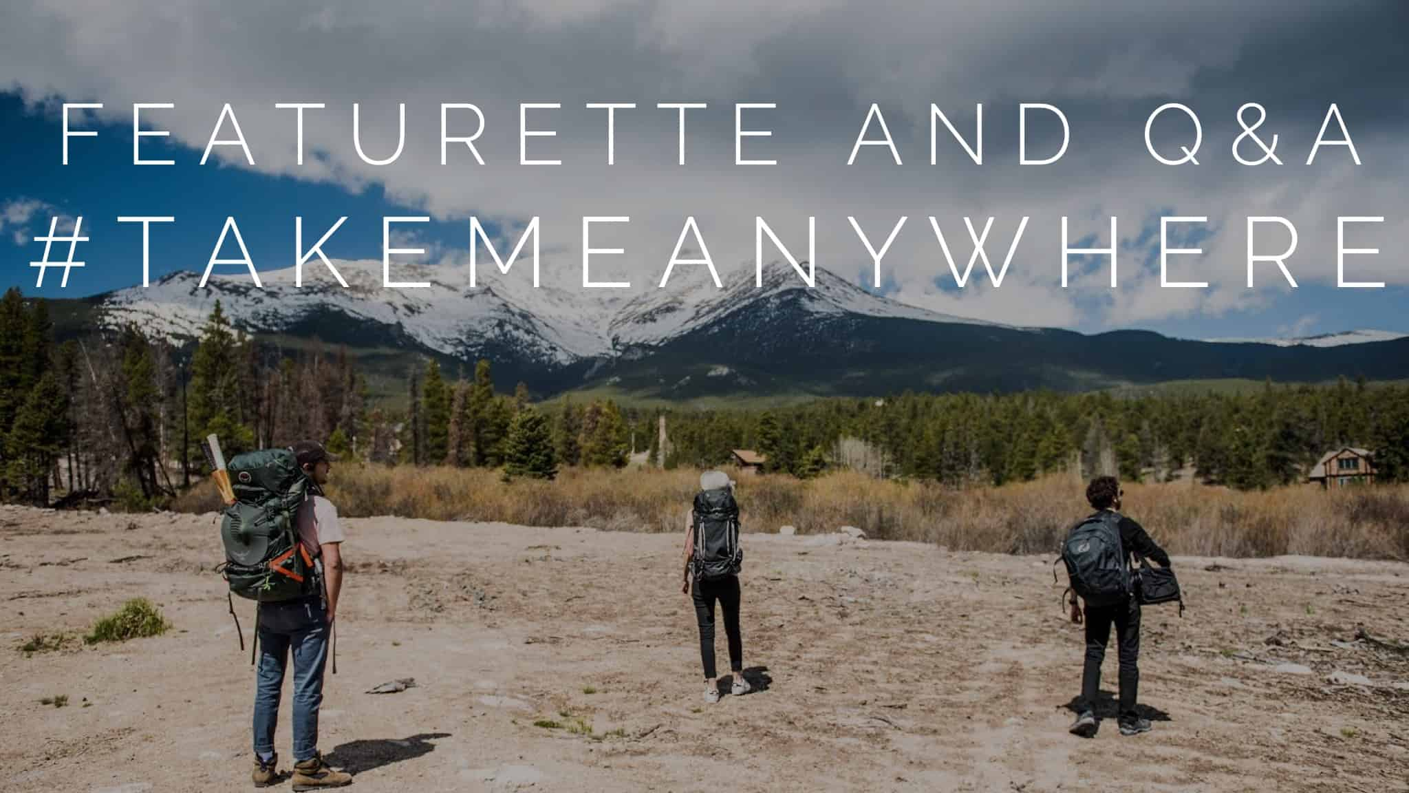 A still from #TAKEMEANYWHERE featuring Shia Labeouf, Luke Turner, and Nastja Rönkkö