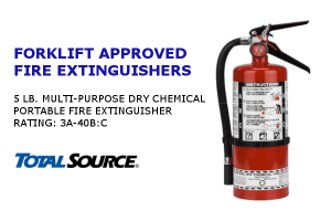 Fire Extinguisher -5 lb</br>Rating: 3A-40B:C