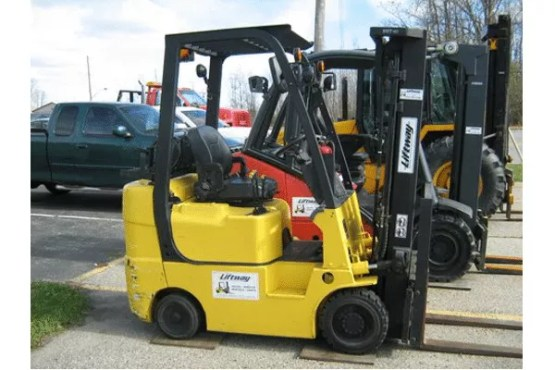 Used Forklift - Hyundai 18LC-7