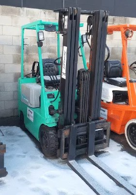Used Forklift - Mitsubishi