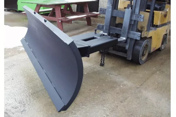 Used Forklift Snow Blades : Snow plow forklift attachment