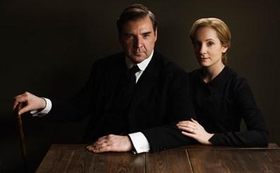O amado casal Anna e Bates (Joanne Froggatt e Brendan Coyle)