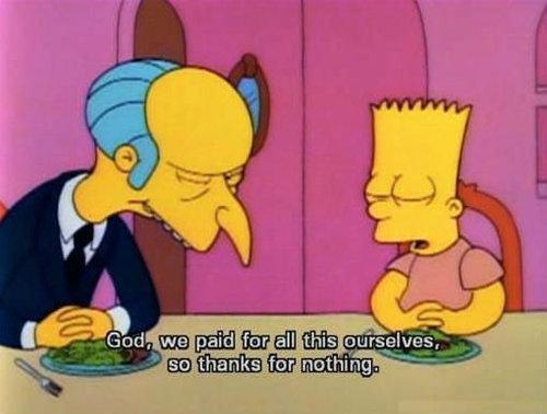 Simpsons bart_burns