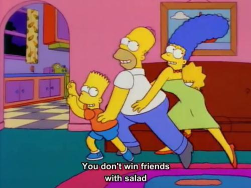 Simpsons salada