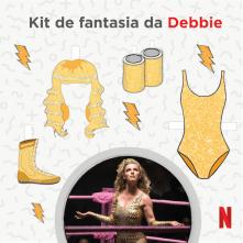 Kit de Fantasia da Debbie - Glow